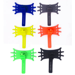 Baby Stroller Bike Bicycle Mobile Phone Holder Elastic Silicone Stand Bracket - shopbabyitems