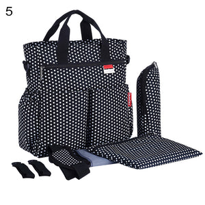 Maternity Mummy Handbag Large Capacity Waterproof Baby Stroller Nappy Diaper Bag - shopbabyitems