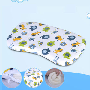 Cartoon Animal Baby Newborn Prevent Flat Head Positioner Memory Cotton Pillow - shopbabyitems