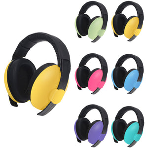 Noise Reduction Comfortable Adjustable Baby Kids Sleep Ear Protection Earmuff - shopbabyitems