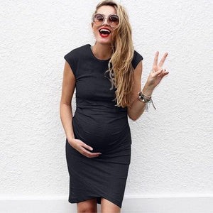 Ebay Europe and America large size women's sexy pregnant women dress - shopbabyitems