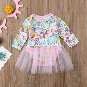 Unicorn Baby Dress - shopbabyitems