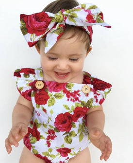 Baby Girl Floral Set - shopbabyitems