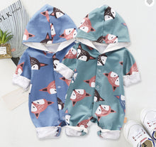 Load image into Gallery viewer, Fox Rompers for Baby - shopbabyitems