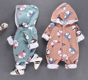 Fox Rompers for Baby - shopbabyitems