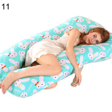 Load image into Gallery viewer, Multifunctional Cotton U Shape Side Sleeper Pregnant Women Pregnancy Pillow - shopbabyitems