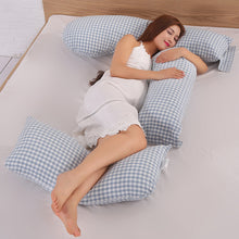 Load image into Gallery viewer, Maternity Cotton U Shape Pillow Pregnant Women Comfortable Sleeping Support - shopbabyitems