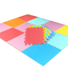 Load image into Gallery viewer, 18 PCS Baby Kids Play Mat Multi-Color Puzzle Excise Crawl Mat EVA Foam Floor Safe Playmat - shopbabyitems