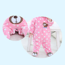 Load image into Gallery viewer, Newborn Baby Girl Boy Winter Warm Romper Cartoon Animal Infant Clothes Jumpsuit - shopbabyitems