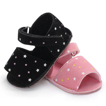 Load image into Gallery viewer, Toddler Baby Girl Cute Stars Soft Anti-slip Summer Sandals Prewalker Footwear - shopbabyitems