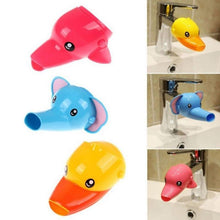 Load image into Gallery viewer, Happy Fun Animals Faucet Extender Baby Tubs Kids - shopbabyitems