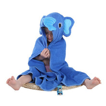 Load image into Gallery viewer, Baby Boys Girls Spring Animal Hooded Bath Towel - shopbabyitems