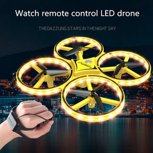 Interactive induction RC quadcopter intelligent watch - shopbabyitems