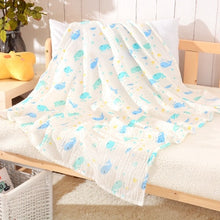 Load image into Gallery viewer, 1Pc Muslin 100% Cotton Baby Swaddles Soft Newborn Blankets Bath Gauze Infant Wrap Sleepsack Stroller Cover Play Mat Baby Deken - shopbabyitems