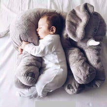 Load image into Gallery viewer, 1pcs 60cm INS Elephant  Soft Pillows Baby Sleeping Pillow Stuffed Elephant Comforter - shopbabyitems