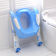 Load image into Gallery viewer, 2 Colors Baby Potty Training Seat Children's Potty Baby Toilet Seat With Adjustable Ladder - shopbabyitems