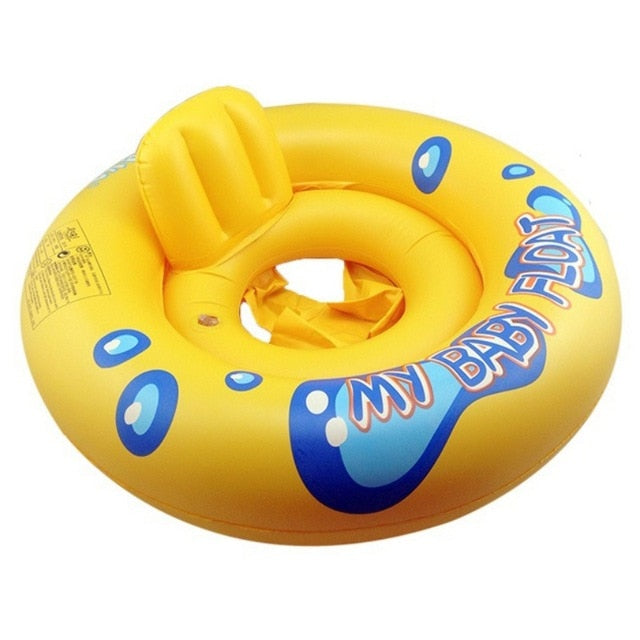 2 in 1 Infant Kids Baby Swimming Seat Swimming Pool Float Ring - shopbabyitems