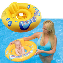 Load image into Gallery viewer, 2 in 1 Infant Kids Baby Swimming Seat Swimming Pool Float Ring - shopbabyitems