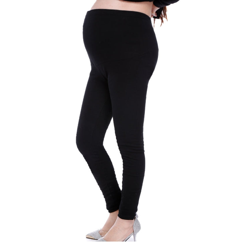 New Cotton Fashion Pregnancy Women Maternity Leggings Adjustable Stretch Thin Leggings Full Ankle Length Skinny Trousers Pants - shopbabyitems