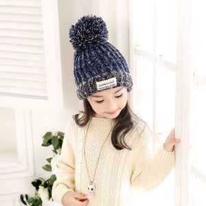 C5 Thickening Wool Child warm tide hat for winter - shopbabyitems