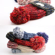 Load image into Gallery viewer, C5 Thickening Wool Child warm tide hat for winter - shopbabyitems