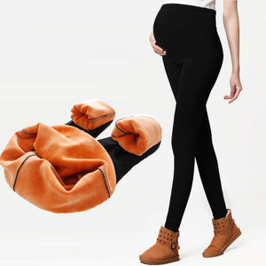 Maternity legging Adjustable Elastic maternity leggings pregnant clothes pants - shopbabyitems