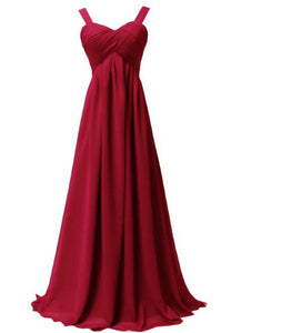 Chiffon Evening Dress Long 2016 New Design Elegant mother of the bride dresses - shopbabyitems