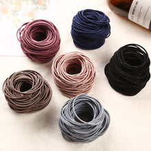 Load image into Gallery viewer, New Fashion 100pcs/lot 5CM Size Thin Elastic Rubber Bands Korean Style Basic Girl Women Headwear - shopbabyitems