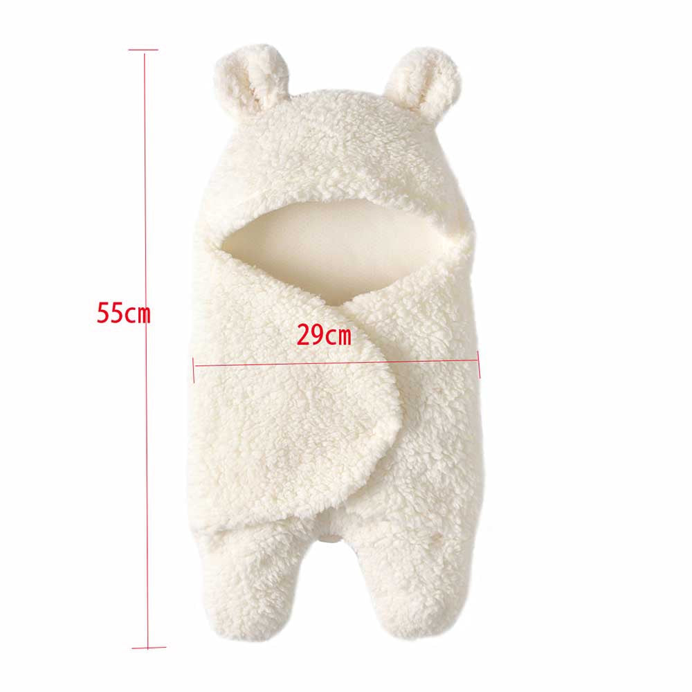 Baby Warm Comfortable Cartoon Envelope Swaddle Winter Wrap - shopbabyitems