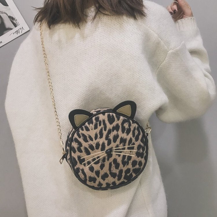 Chic leopard print small bag - shopbabyitems