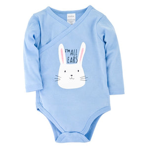 Baby Bodysuit Full Sleeve One Piece Baby Boy Clothes Body bebes twins Newborn Cotton Toddler Girl Clothes Pajamas Pyjamas - shopbabyitems