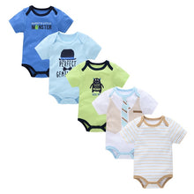 Load image into Gallery viewer, New Baby Bodysuit Cotton Pyjamas bebe Newborn Baby Girl Clothes Set Body bebes Short Sleeve roupa de bebe Baby Boy Clothing - shopbabyitems