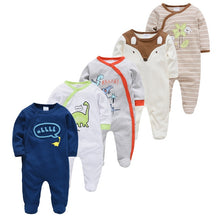 Load image into Gallery viewer, New Baby Sleepers Cotton Pijamas bebe Newborn Baby Girl Boy Clothes robe bebe 3 6 9 12 Month Infant Rompers Clothing - shopbabyitems