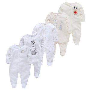 New Baby Sleepers Cotton Pijamas bebe Newborn Baby Girl Boy Clothes robe bebe 3 6 9 12 Month Infant Rompers Clothing - shopbabyitems