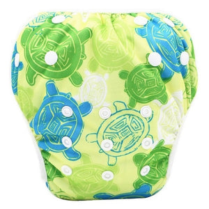 New Baby Swim Diapers Waterproof Adjustable Cloth Diapers Pool Pant Swimming Diaper - shopbabyitems