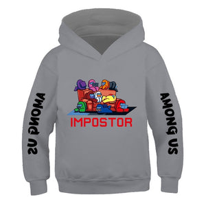 Among Us Hoodie Kids Size Boys&Girls Long Sleeve Hooded Sweatshirts Children - shopbabyitems