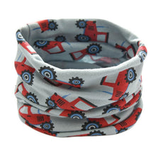 Load image into Gallery viewer, Autumn Winter Children Cotton Scarf Baby Kids Warm Scarf Boys Girls Cartoon Scarves Child Collar O Ring Magic Neckerchief - shopbabyitems