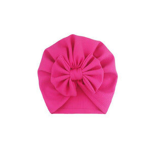 Baby Stuff Accessories Baby Girl Hat With Bow Knot Infant Beanie - shopbabyitems