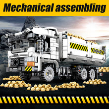 Load image into Gallery viewer, 799pcs City Truck Building Blocks Legoingly Technic Car Mechanical Earthmoving Vehicle Bricks Toys for Children - shopbabyitems