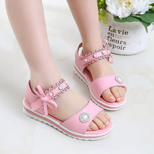 Load image into Gallery viewer, 2020 NEW girls summer sandals children's flats shoes girl princess little girl over the children shoes size 27-37 - shopbabyitems