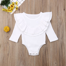 Load image into Gallery viewer, Newborn Baby Girl Boy Clothes Long Sleeve Knitted Romper + Headband Jumpsuit - shopbabyitems