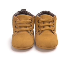 Load image into Gallery viewer, Spring / Autumn Infant Baby Boy Soft Sole PU Leather First Walkers Crib Shoes 0-18 Months - shopbabyitems