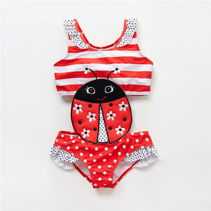 Toddler Infant Baby Girls Swimwear Watermelon Swimsuit - shopbabyitems