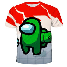 Load image into Gallery viewer, 2020 new 3D Game Among Us Printed T-shirt Short Sleeve Kids Boys Girls Casual Tops Tees Toddler Children Colorful Camiseta - shopbabyitems