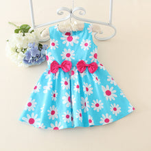 Load image into Gallery viewer, Baby Girls Princess Dress cotton broken flower girl dress skirt - shopbabyitems