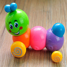 Load image into Gallery viewer, Lovely Colorful Caterpillar Wind-up Toys Kids Baby Developmental Educational Toy - shopbabyitems