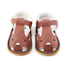 Load image into Gallery viewer, New Design Cute Brown Bear Summer Unique Rubber High Quality Baby Sandals - shopbabyitems