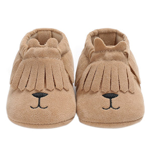 Fashion Toddler Baby Boys Girls Faux Leather Shoes Soft Flats Casual Prewalker - shopbabyitems