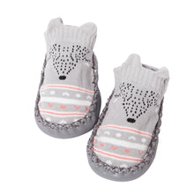 Load image into Gallery viewer, Baby Socks Newborn Toddler Anti-skid Anti-Slip Faux Leather Bottom Floor Socks - shopbabyitems