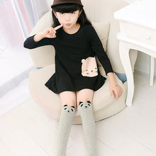 Load image into Gallery viewer, Kids Girls Cute Cartoon Pattern Tube Socks Fashion Cotton Over Knee Stockings - shopbabyitems